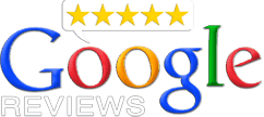 Google Reviews rating icon - Hamilton Town Dentistry - Dentist Noblesville